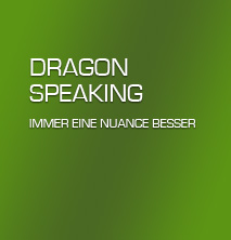 Logo: Dragon Speaking - Spracherkennung für Jedermann